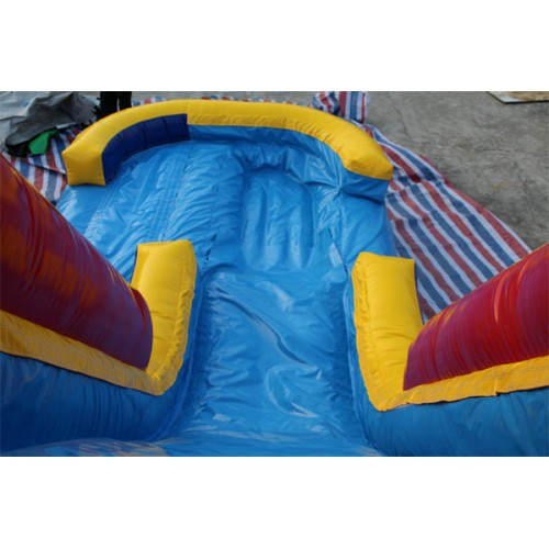 Inflatable Water Slide Az: Inflatable Rainbow Slide With Pool