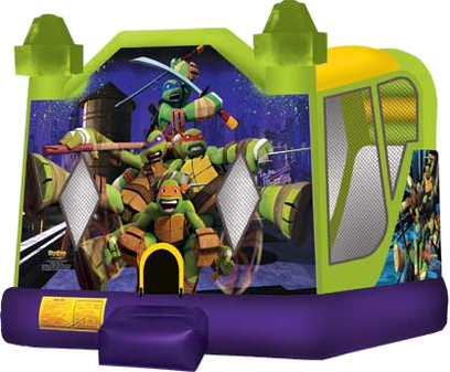 teenage-mutant-ninja-turtle-wet-combo-inflatable-bounce-house-arizona