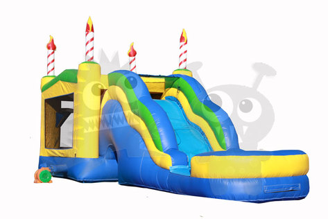birthday-cake-inflatable-bounce-house-combo-arizona